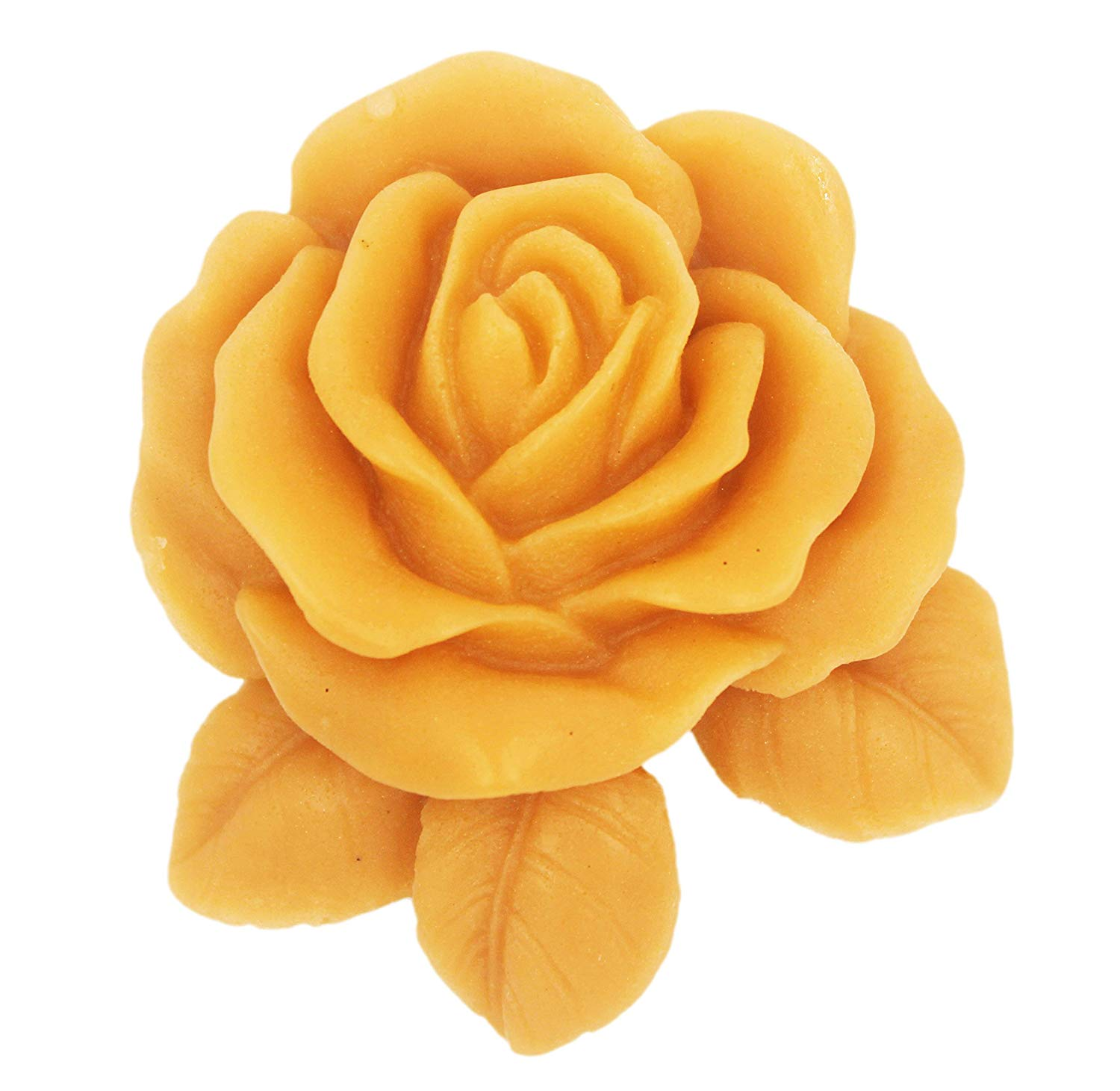 Longzang Silicone Soap Molds Shapes Rose Flowers Soap Mold Silicone Soap Molds (S556)