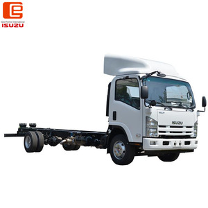 ISUZU brand trucks chassis left hand ISUZU trucks mixer with 190HP