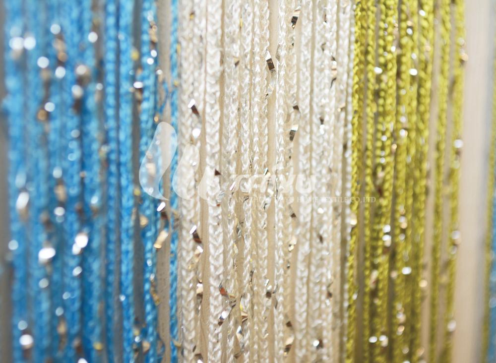 Multi Color Fashion Hanging Sliver Kitchen Door Curtain - Buy Door ...