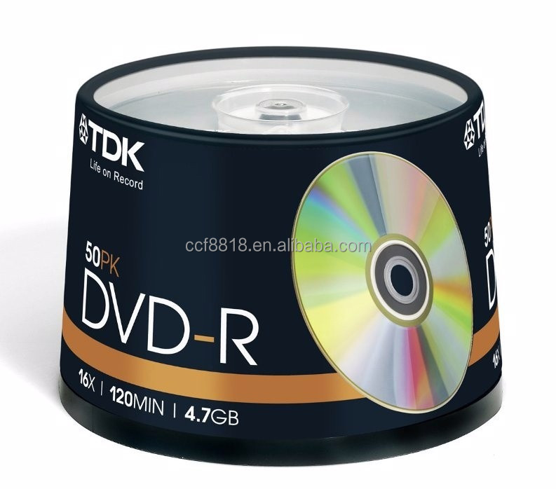 TDK blank dvd in bulk, dvd-r, high quality made in taiwan products