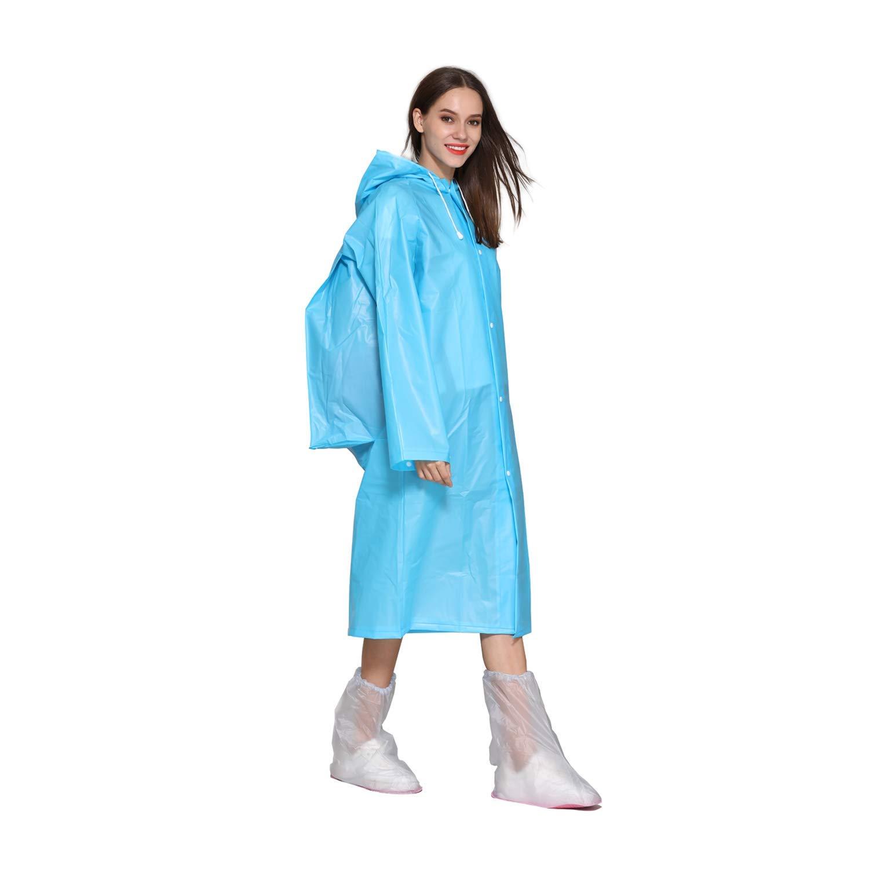 suyncyi rain Poncho, Best Value Environmentally Friendly Reusable Raincoats with School Bag Cover