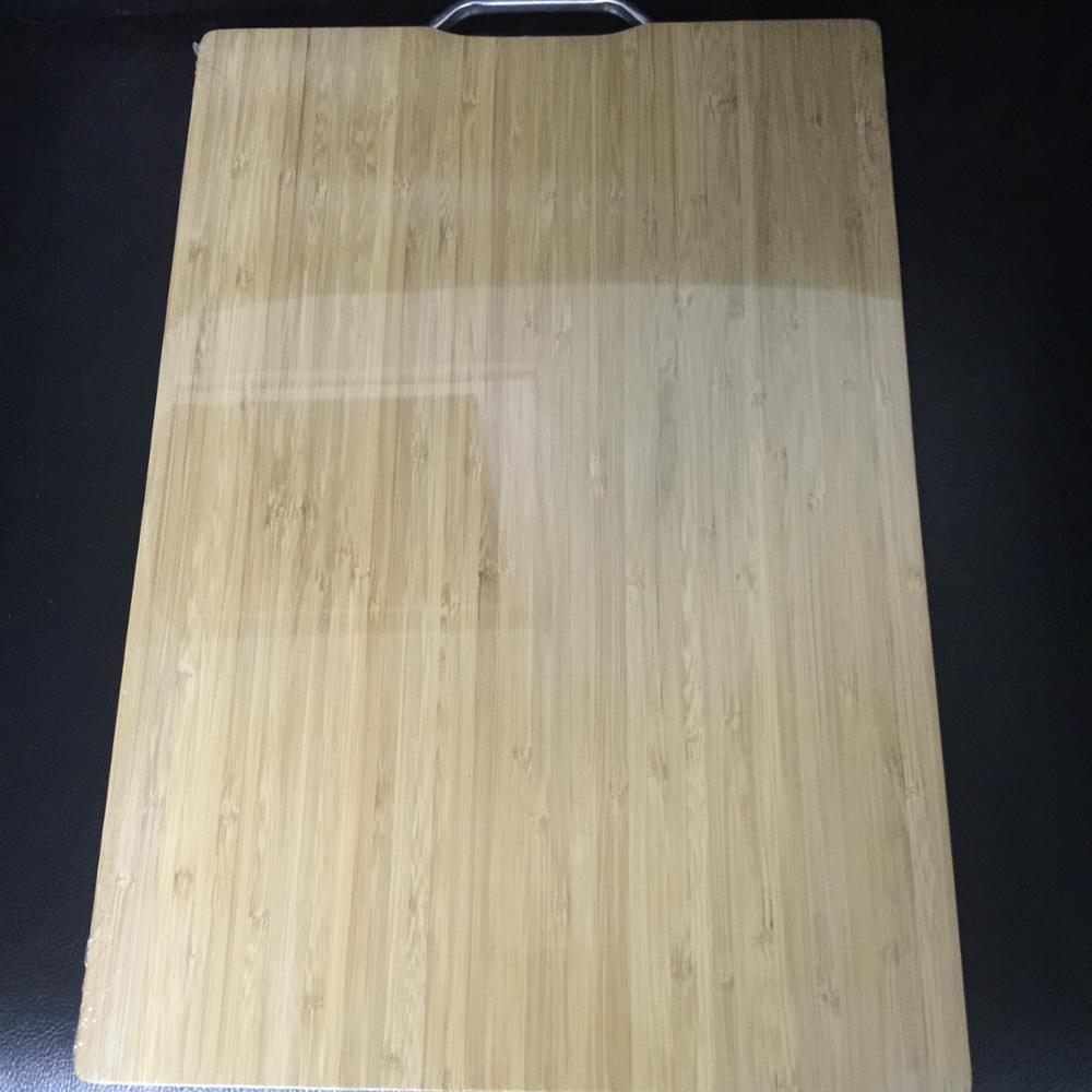 Carbonized bamboo fruit board with metal hanger