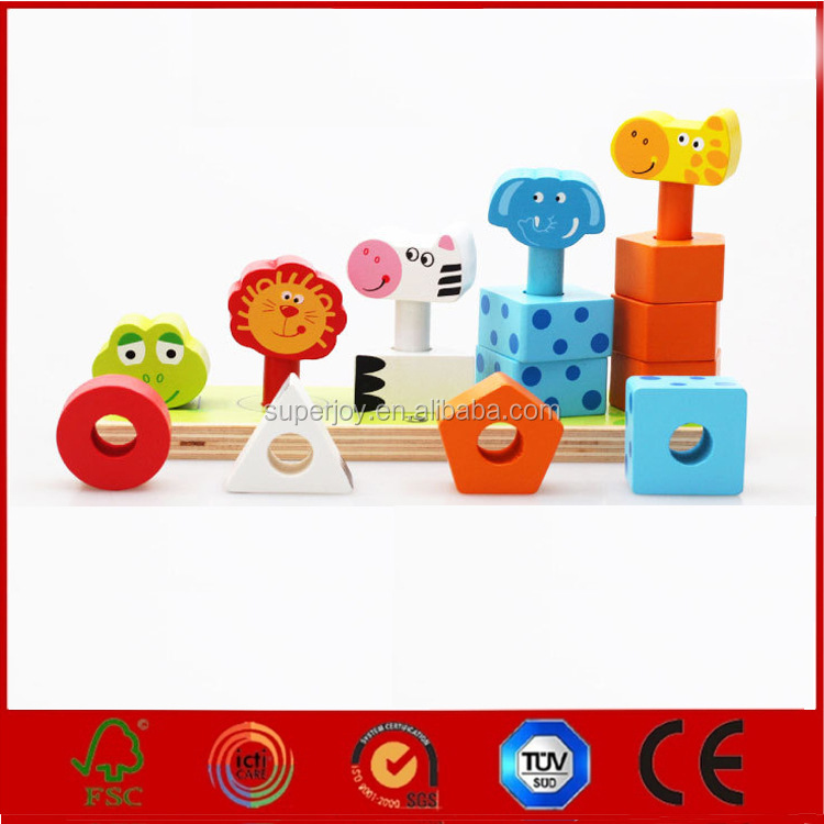 wood Giant Jenga and wooden building blocks toys wooden blocks for kids