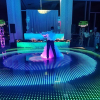 Super Thin Wireless Disco DJ Light Up Led Digital Dance Floor For Wedding Party Event Sale
