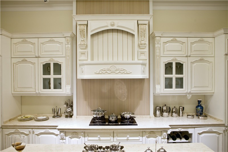 Hot Sell European Style Solid Wood Kitchen Cabinet Design ...