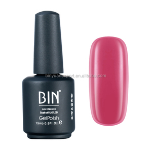 2017 BIN Nail Supplies 15ml Good Quality Organic Gel Nail Polish