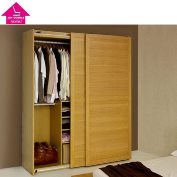 Particle Board With Melamine Wardrobe Sliding Door 2 Bedroom Design