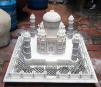 Valentine Gift Marble Stone Taj Mahal Replica Hadcrafted - Buy ...