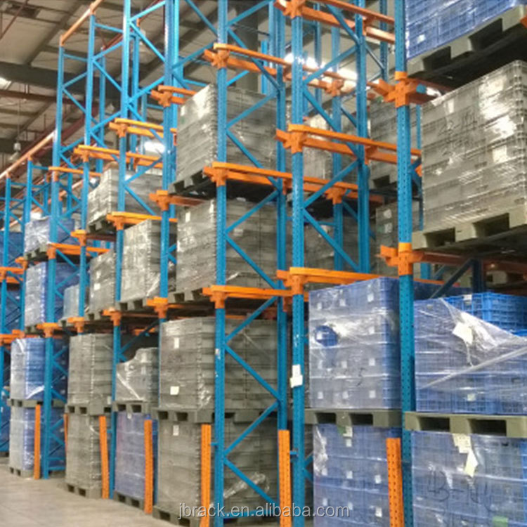 Hot sale and cost-efficient Large storage warehouse drive in heavy duty pallet rack