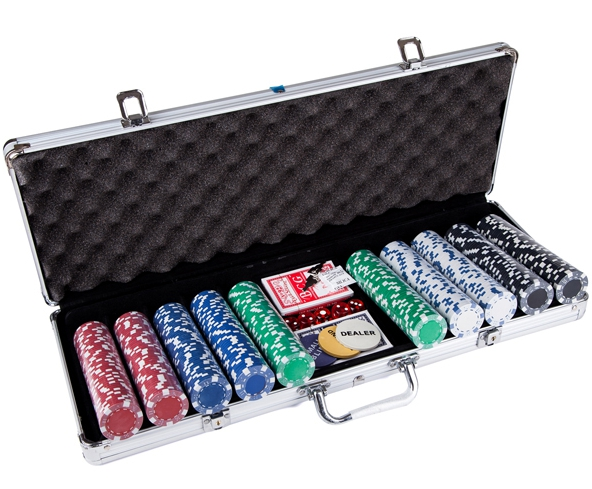 500 stks Casino Chip Poker Set / Professionele Casino Chip 500 stks Poker Set