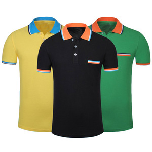 Latest Men's Polo T Shirts Thick Fabric High Quality Cheap Price 100% Soft Cotton Custom Brand Mens Polo Shirt