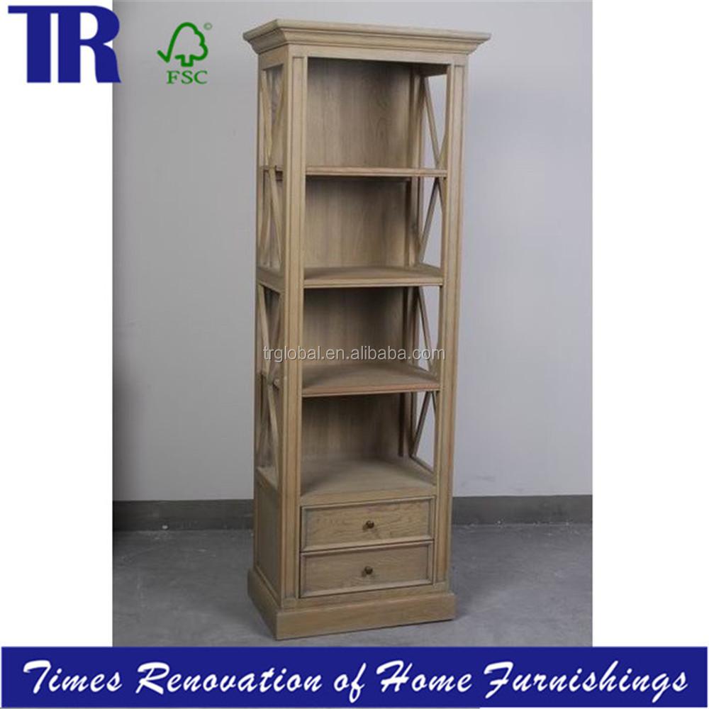 estantera de madera maciza estante para libros