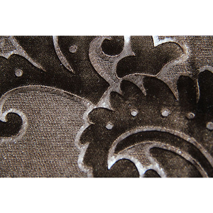 High Quality Jacquard Velvet Fabric Flower Pattern For Sofa And Curtain