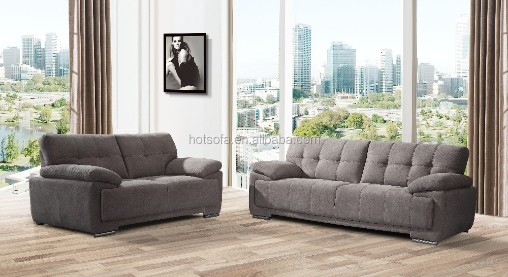 Low Price Cheap Living Room Furniture Leather Sectional Sofa Set Design H208