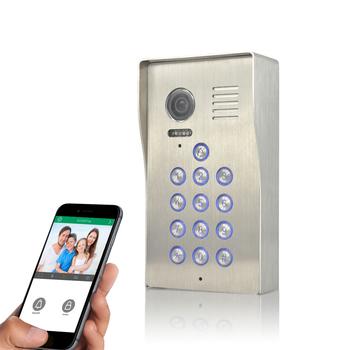 Doorbell Smart Video Door Phone For Villa Remotely Unlock Door With Smart  Phone Wifi Intercom System