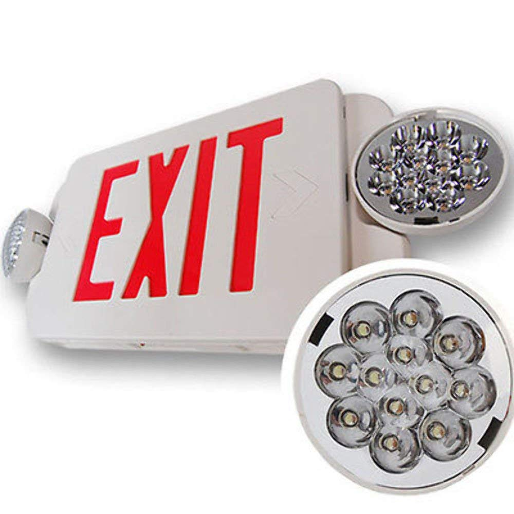 6-Pack-LED-Exit-Sign-amp-Emergency-Twin-Light-Lighitng-RED-Compact-Combo-UL924 6-Pack-LED-Exit-Sign-amp-Emergency-Twin-Light-Lighitng-RED-Compact-Combo-UL924 6-Pack-LED-Exit-Sign-amp-Emergency-Twin