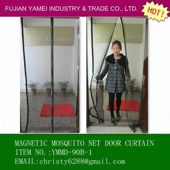 2013 new design diy magnetic mosquito net door curtain - Mosquito net door designs ...