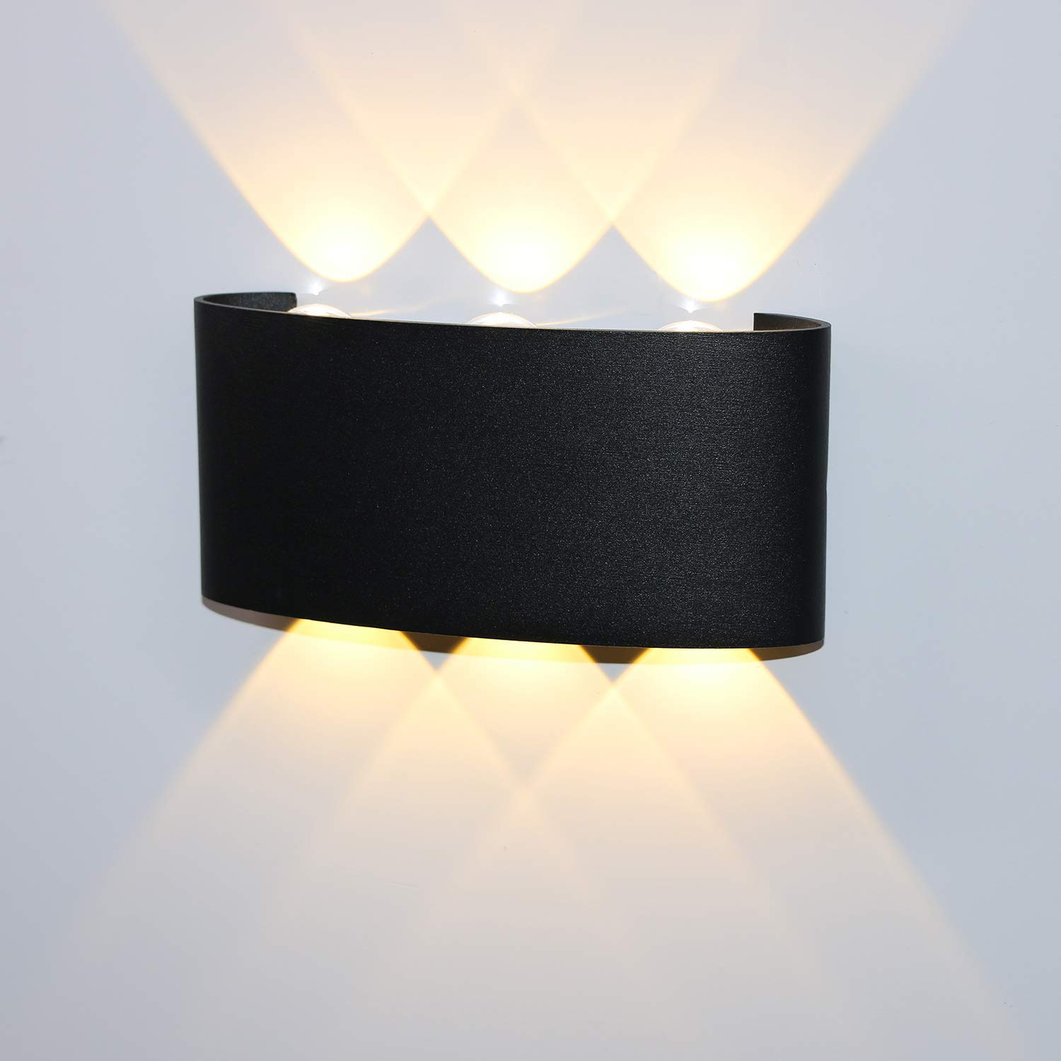 Led Wall Light Ip65 Waterproof Outdoor Lamp For Garden Patio Porch Sconce