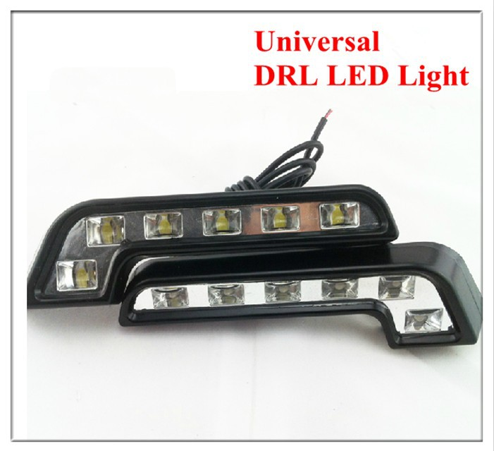 Night Lord Universal L DRL LED Light ABS Daytime Running