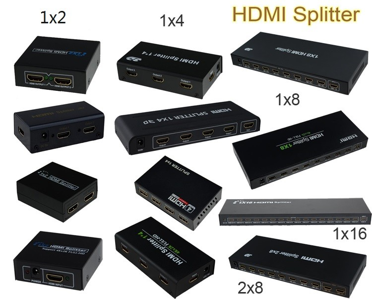 HDMI Splitter 2x8 Switch Support 3DFull HD1080pHDMI Switcher