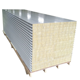 Exterior wall cladding rock wool sandwich panel decorative insulation wall panel