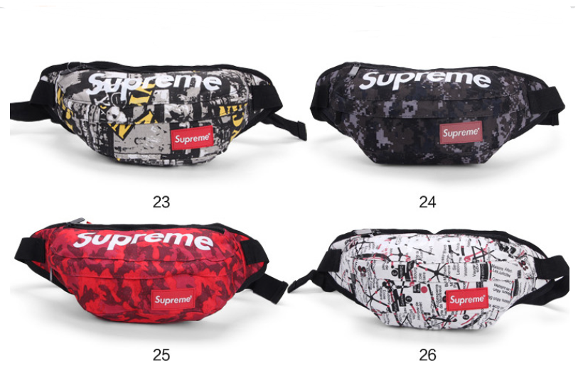Durable Fasion Waist Bag Colorful Fanny Pack Custom Logo Wholesale for Men Women