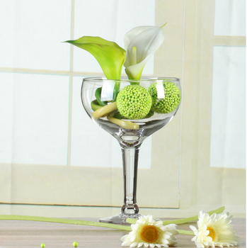 Home Indoor Decoration Wine Gl Vases For Flower Arrangements Tall Decor Clear