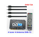 satellite tv receiving antenna portable Digital TV DVB-T24 USB TV Black Box