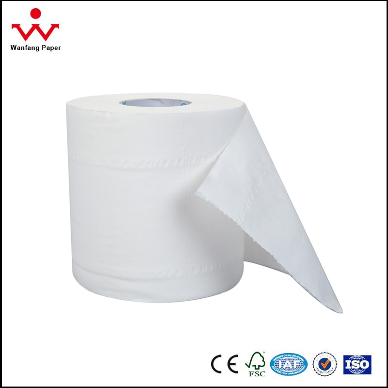 2 ply chinese professional supplier wholesale price toilet tissue paper roll with sheet size 100mm*110mm or as your requests