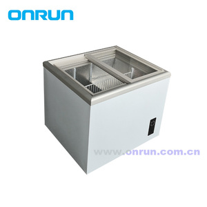 60L mini chest display freezer