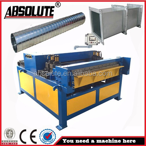 ABSOLUTE brand Machine to make square tube Stainless steel duct manufacturing machines