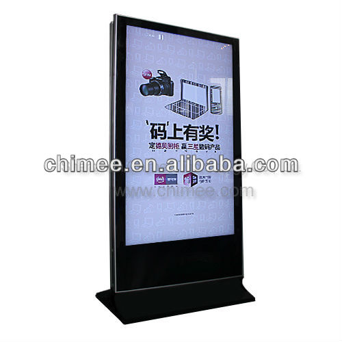 "55inch floor standing LCD/LED all in one touch screen pc ( 7""~65"")"