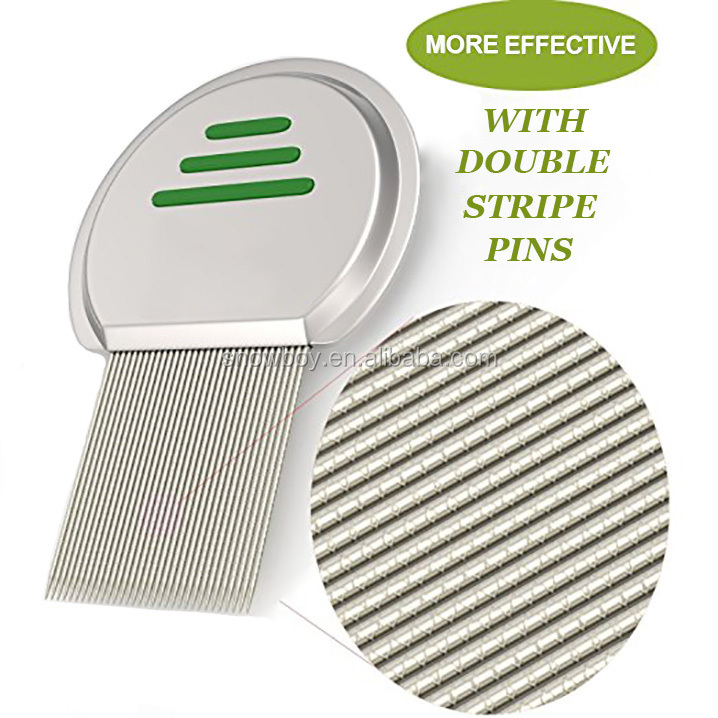 More Effective Stainless <strong>Steel</strong> Head Lice Treatment <strong>Hair</strong> <strong>Comb</strong>