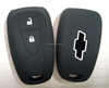 IN stock Silicone rubber key shell, key cover for chevrolt 2 buttons