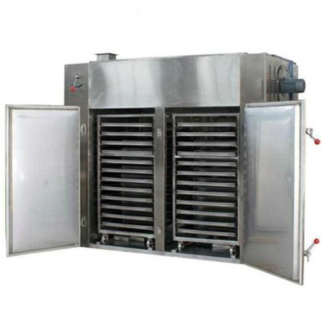 Gas or LPG hot air circulation vegetable dryer tray type fruit dehydrator food drying machine