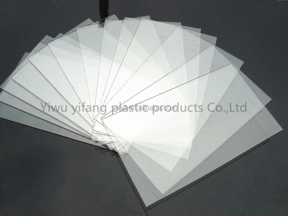 Thin Clear Plastic Sheetpolystyrene Sheetpmmaacrylicphoto Frame