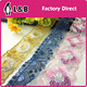 Wholesale Custom made new model fashional fancy sequined lace trimming