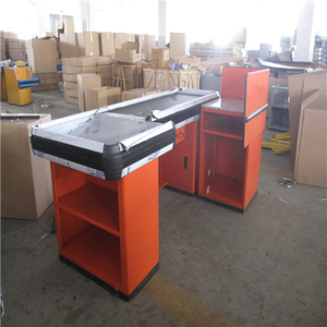 supermarket cashier checkout counter low price cash counter table