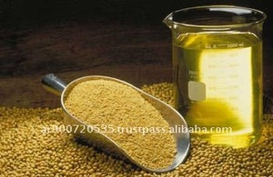 Crude degummed and refined soybean oil