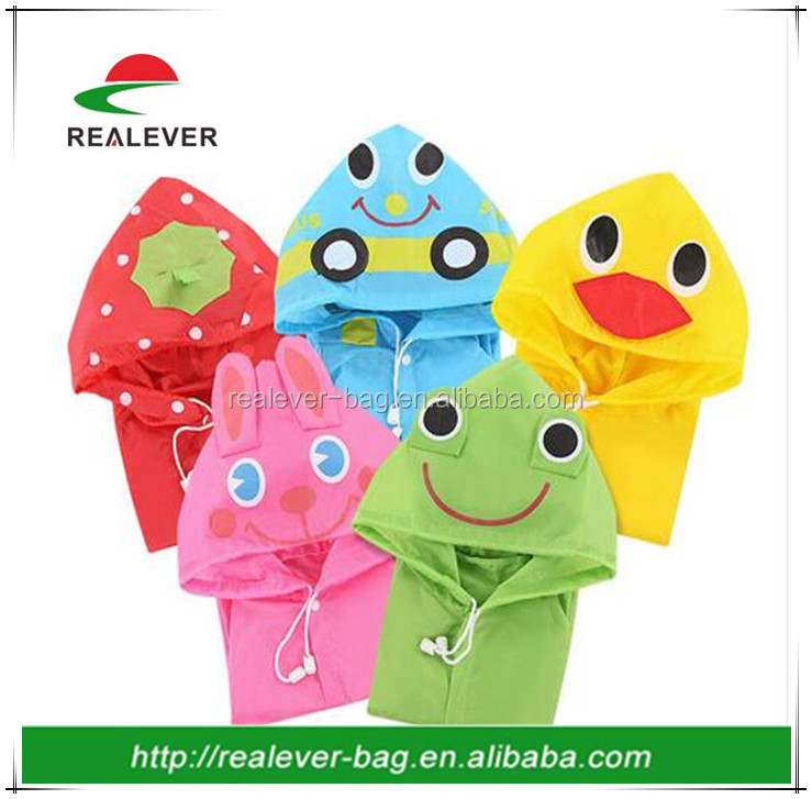 children cheap PVC raincoat