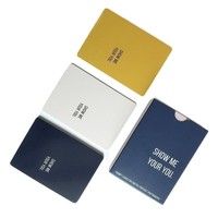 Customized card printing services OEM flash cards set for kids