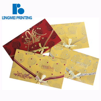 Welcome OEM & ODM , factory wholesale price luxury laser cut wedding invitation card printing service