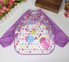 High Quality Silicone Baby Bib/Baby Apron With Food Catcher By Baby Bid Manufacturer