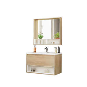 Factory Direct Modern Quality Solid Wholesale Melamine Hang Bathroom Cabinet