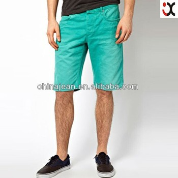 2015 New Mens Colored Shorts Fashion Hot Jeans Male Short Men ...