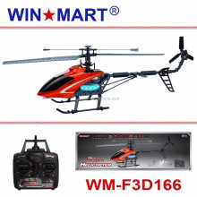WM-F4D166 big 2.4G 4ch single blade rc helicopter