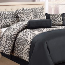 7PCS King Size Jacquard Comforter Sets Bedding Set