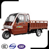 Large Power Cabin Closed 3 Wheel Motorcycle Cargo Tricycle for Adult