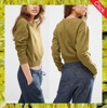 Top quality wholesale custom 100% cotton crew neck cropped sweatshirts for women