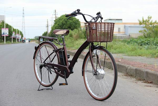 sport style battery powered 26inch china made electric bicycle for lady and old people